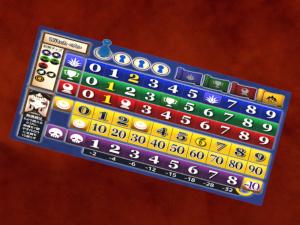 暗黒議会 プレイヤーボード(魔女)