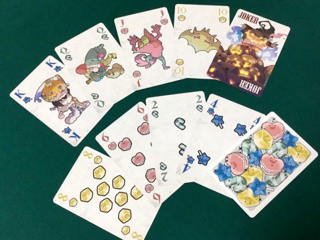 スイーツスタック-プレイングカードのカード写真