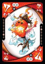 妖怪セプテット 赤の7のカード