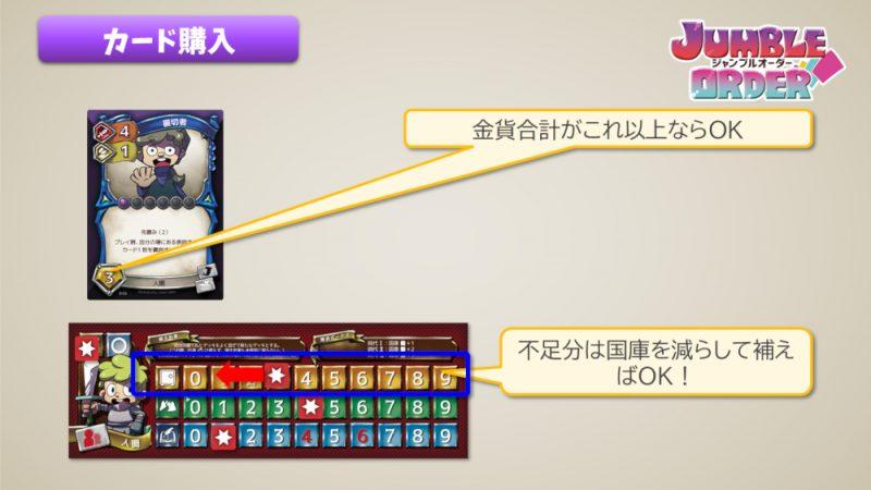 ジャンブルオーダー カード購入