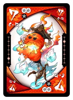 妖怪セプテット 7のカード(6-12)